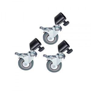 JB11-036A 25Caster Kit(M11-036A) ( Bánh xe cho chân đèn  flash )