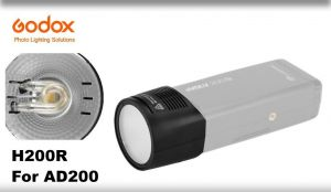 AD200 Round flash head