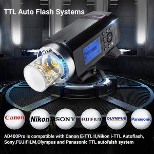 Đèn Flash Ngoài Trời Godox AD400 Pro