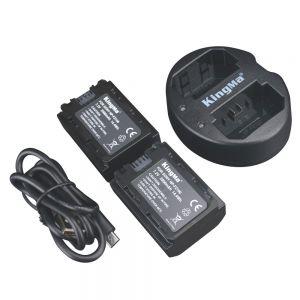 Kingma Combo 2 Pin 1 Sạc NP-FZ100 Dành cho A9/A7RIII/A7III