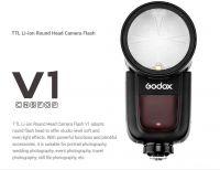 Flash Godox V1 for canon- Hàng chính hãng