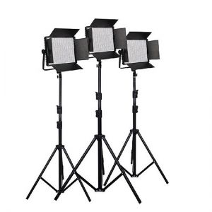 Đèn LED studio NANLite CN-900SA 3 Kit