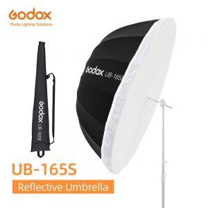 Dù đen bạc Godox UB-165S-165cm