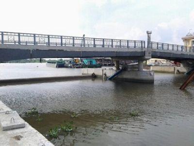 Hệ thống thủy lực cống ngăn triều cường - TP. Hồ Chí Minh