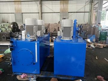 Thiết bị nhập khẩu  Chế tạo thùng dầu tại xưởng  Tích hợp thiết bị