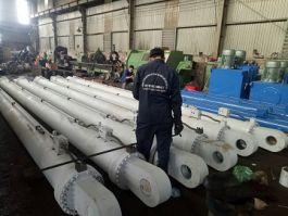 Sản xuất xilanh cung cấp cho thủy điện