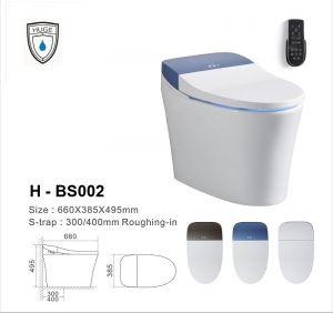 Bàn cầu thông minh toàn phần (H-BS002)