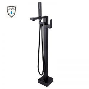 Sen tắm đặt sàn Lambert black (H-SF366B)
