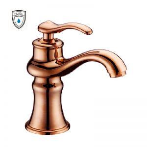 Vòi lavabo Aladdin rose gold (H-H966VR)