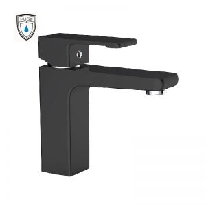 Vòi lavabo Lambert black (H-6900VB)