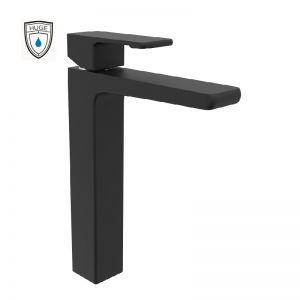 Vòi lavabo Lambert black cao (H-6900AB)