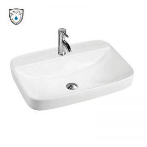Chậu rửa (lavabo) bán âm (H-LB2595)
