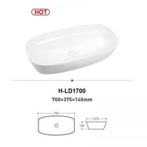 Chậu rửa (lavabo) đặt bàn (H-LD1700)