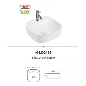 Chậu rửa (lavabo) đặt bàn (H-LD2415)