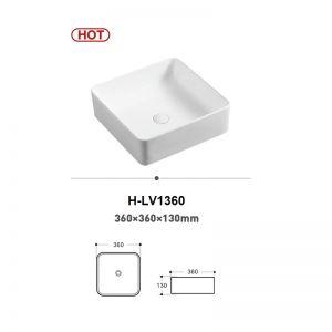 Chậu rửa (lavabo) đặt bàn (H-LD1360)