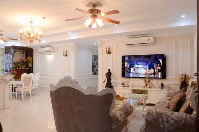 Thiết kế nội thất phòng khách tại vinh