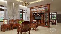 Nội thất gỗ cho phòng khách tại Vinh