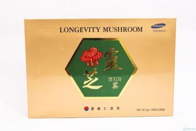 Trà linh chi Hàn Quốc Longevity Mushroom