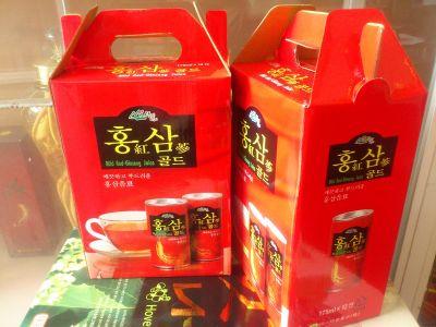 Nước uống Hồng Sâm Hàn Quốc