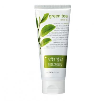 Sữa rửa mặt Phyto Powder in Cleasing Foam Green Tea