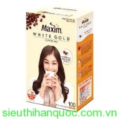 Cafe Maxim white gold 100T