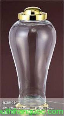 Bình rượu thủy tinh 03