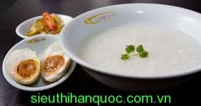 Cháo gạo trắng