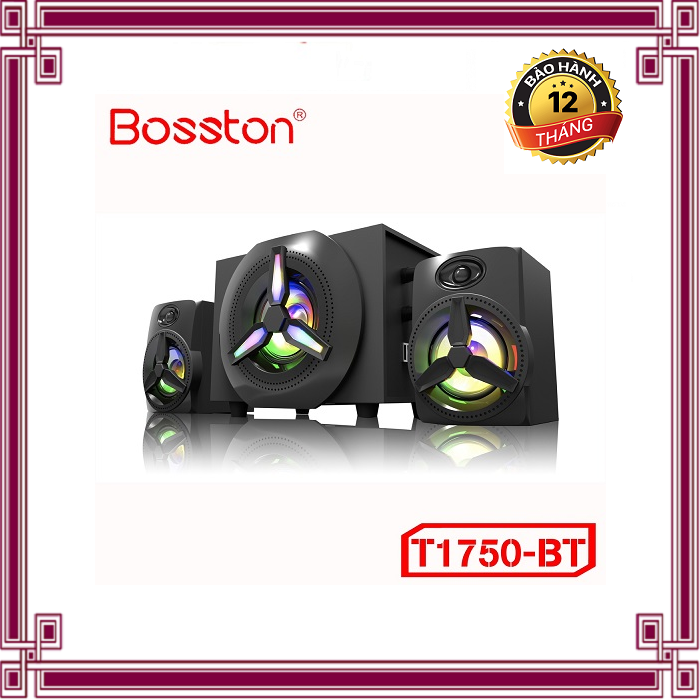 Loa 2.1 Bosston T1750-BT – Led RGB