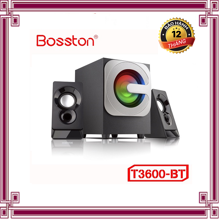 Loa 2.1 Bosston T3600-BT – Led RGB