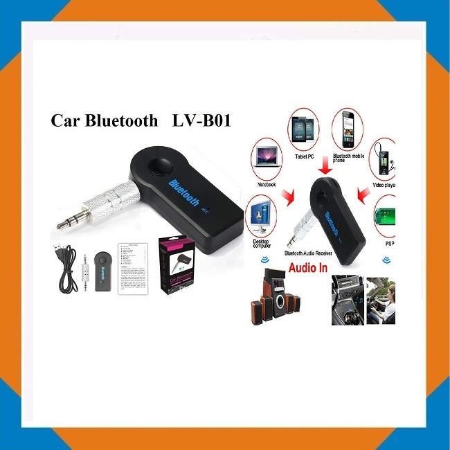 Car Bluetooth (Jacks 3.5mm) LV-B01
