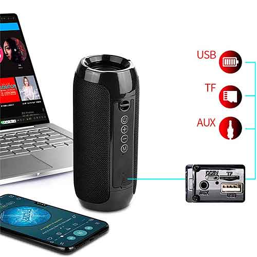 Loa bluetooth T&G TG-117