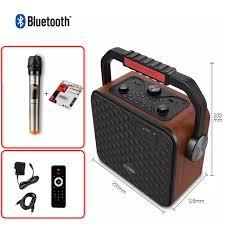 Loa Karaoke Bluetooth F&D R19 Kèm Micro Không Dây