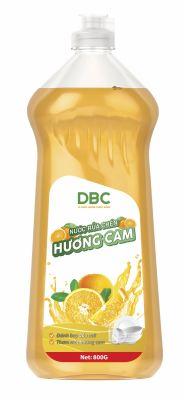 Nước rửa chén Hương Cam (800G)