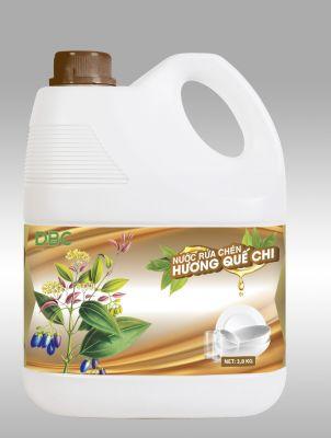 Nước rửa chén Hương Quế Chi (3,8kg)