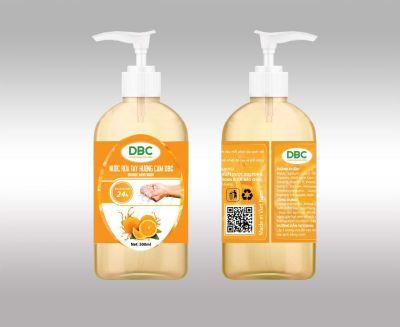 Nước rửa tay Hương Cam DBC