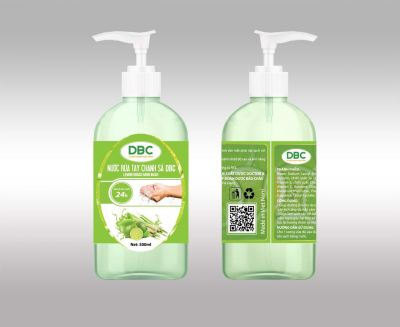 Nước rửa tay Chanh sả DBC
