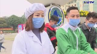 Tập đoàn Dược Bảo Châu tặng miễn phí khẩu trang và nước rửa
