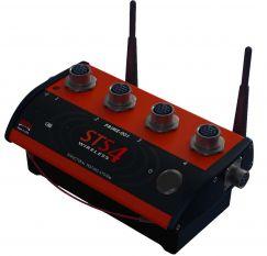Mô đun 4 kênh đo không dây /wireless và cho phép kết nối dây/wired