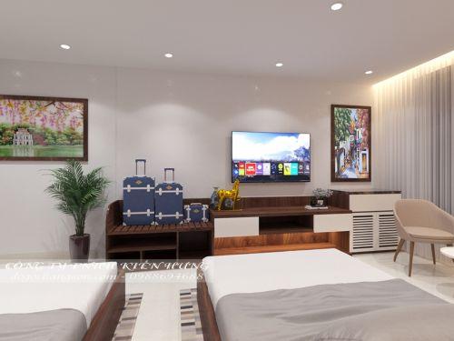 Nội thất khách sạn khu vực phố Huế, Hà Nội