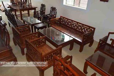 Bộ bàn ghế tiếp khách chữ vạn