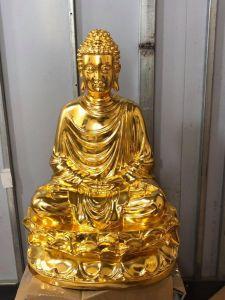 Tượng Phật cao 70cm mạ vàng 9999