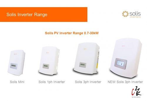 Giới thiệu về Inverter Solis (ginlong)