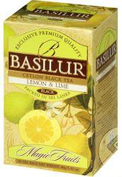 Trà Basilur Lemon & Lime 40g EN