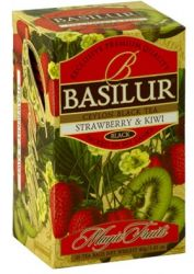 Trà Basilur Strawberry & kiwi 40g EN