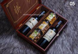 Hộp quà Tết rượu vang 05