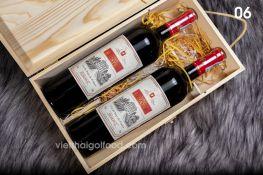 Hộp quà Tết rượu vang 06