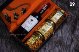 Hộp quà rượu Tết 09