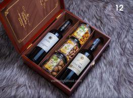 Hộp quà rượu Tết 12