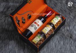 Hộp quà rượu Tết 07