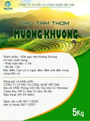 Gạo tám thơm Mường Khương